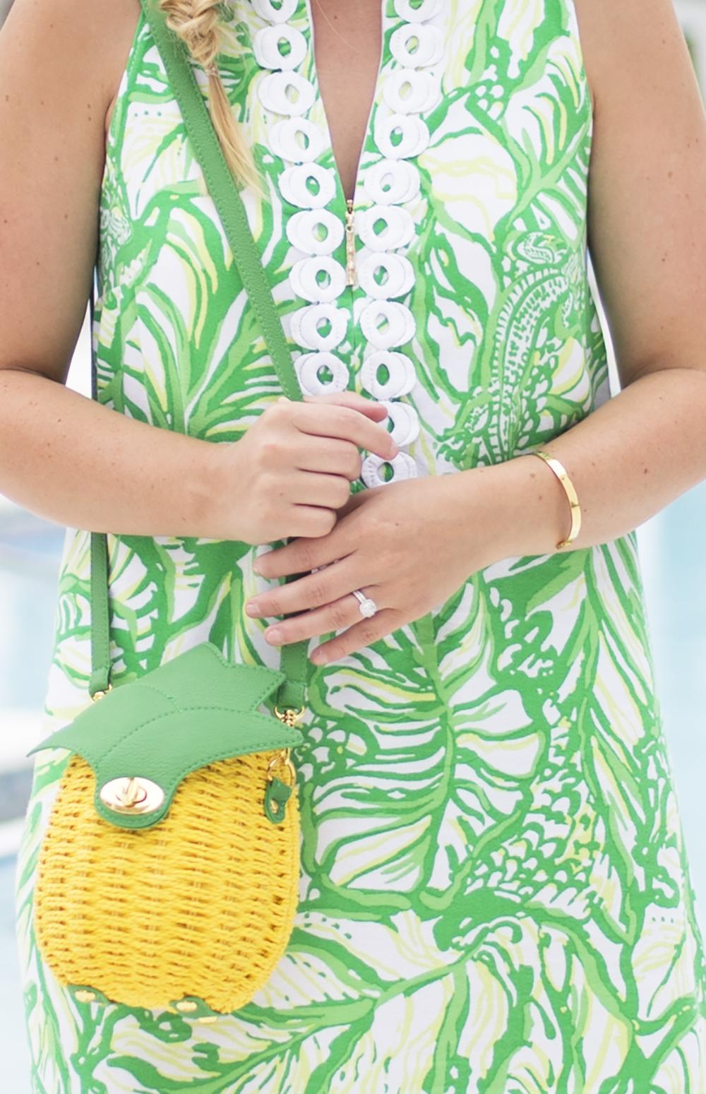 Lily Pulitzer Palm Print Dress