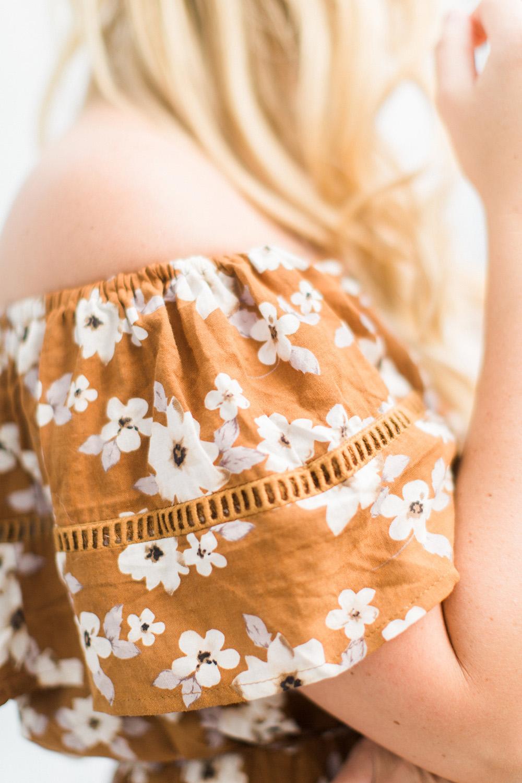 Mustard Seed Floral Dress