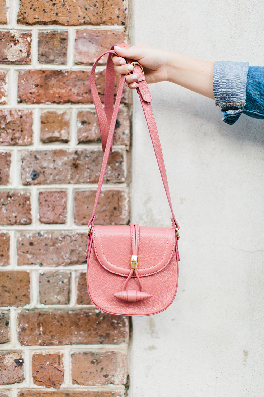 Rose Pink Crossbody