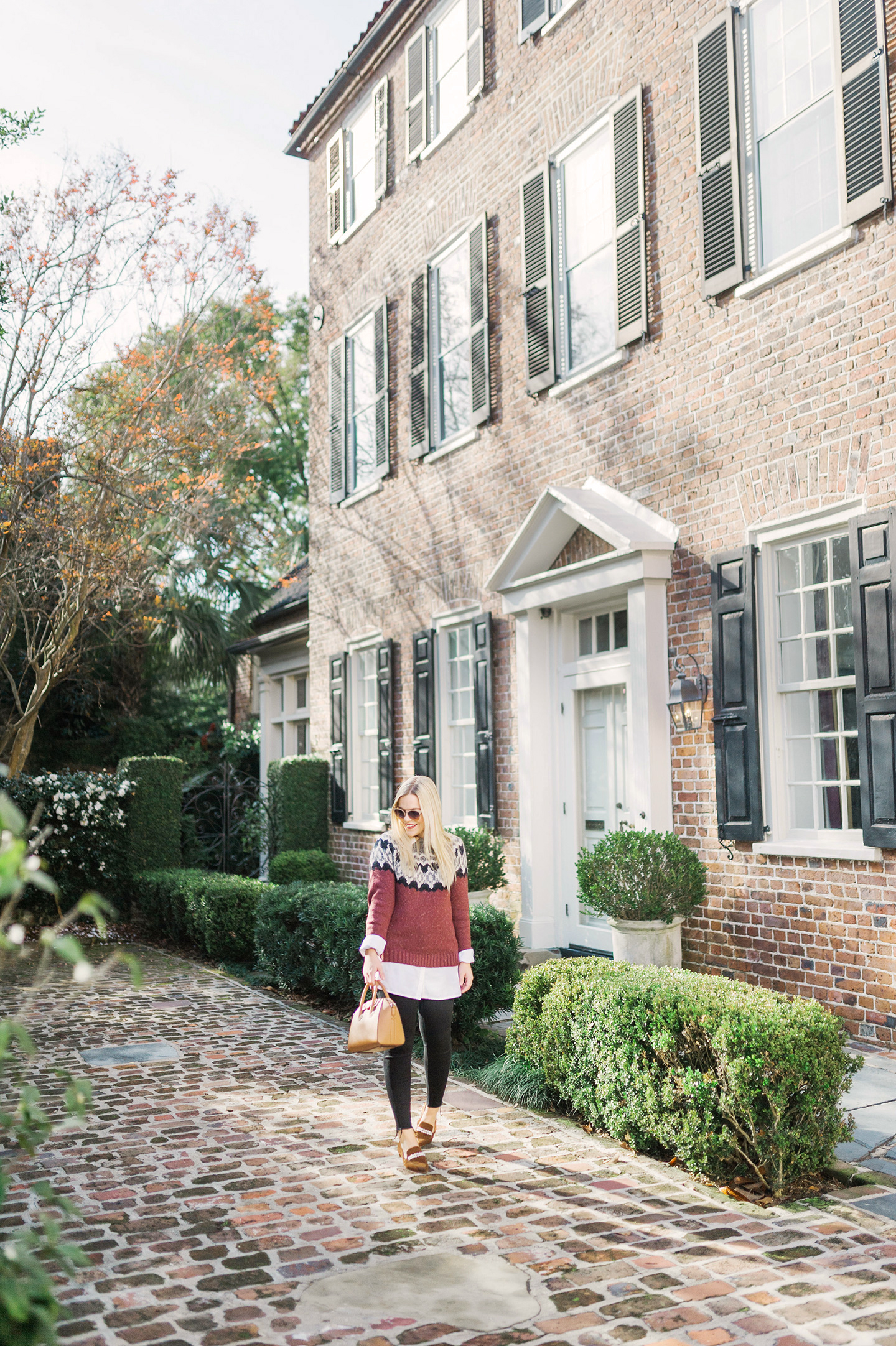 Fair Isle Sweater in Charleston