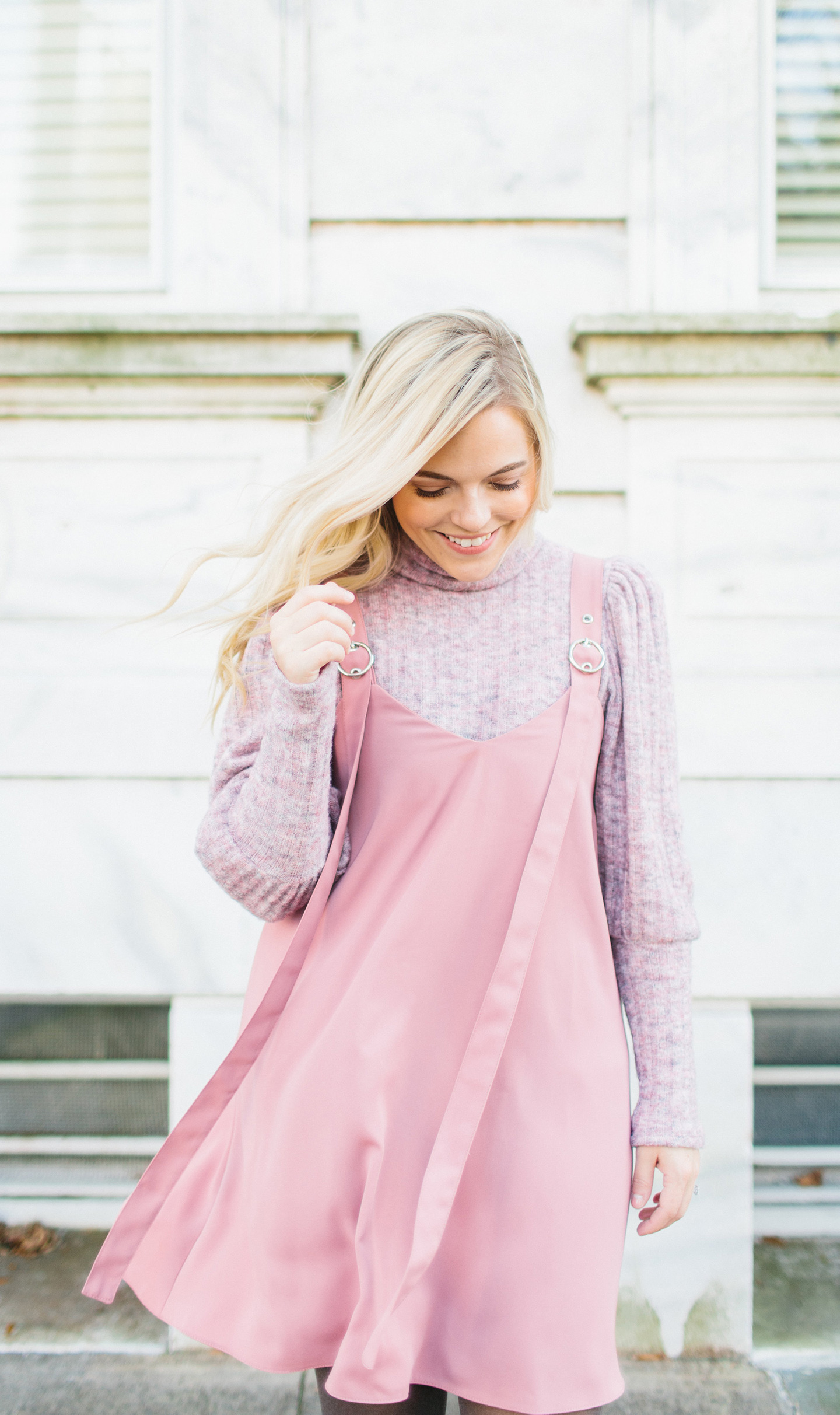 Blush Jumper Dress