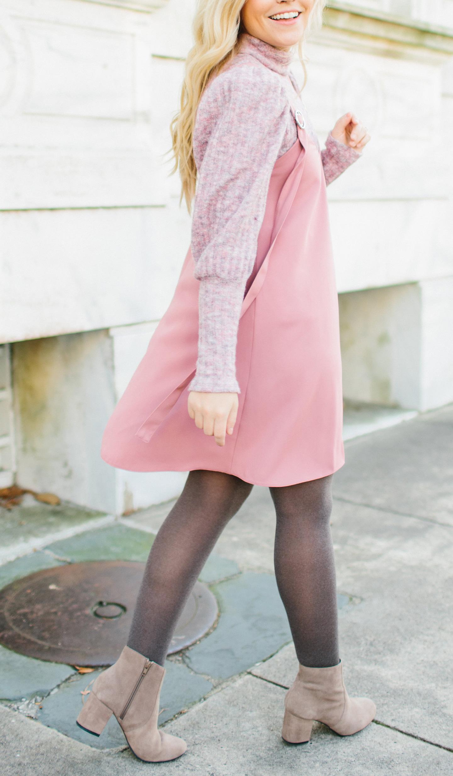 Blush Jumper Dress
