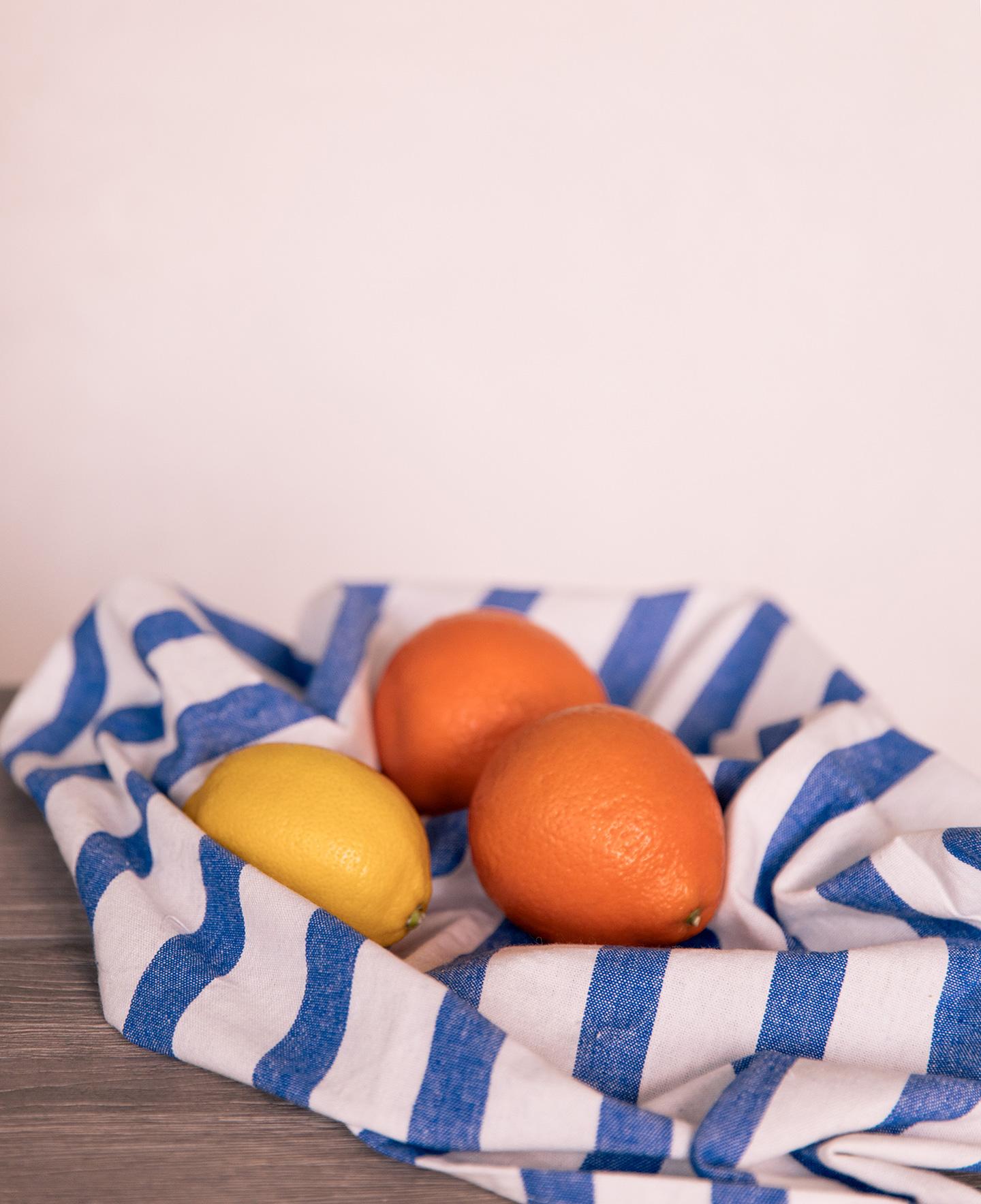 Blue Stripe Linen Napkin