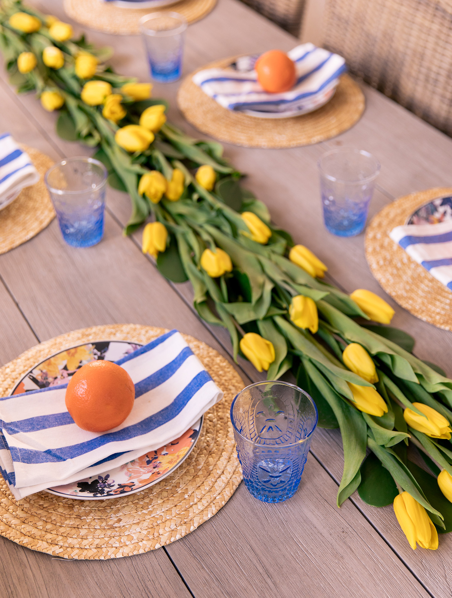 Spring Tablescape with Avon Southern Belle Collection