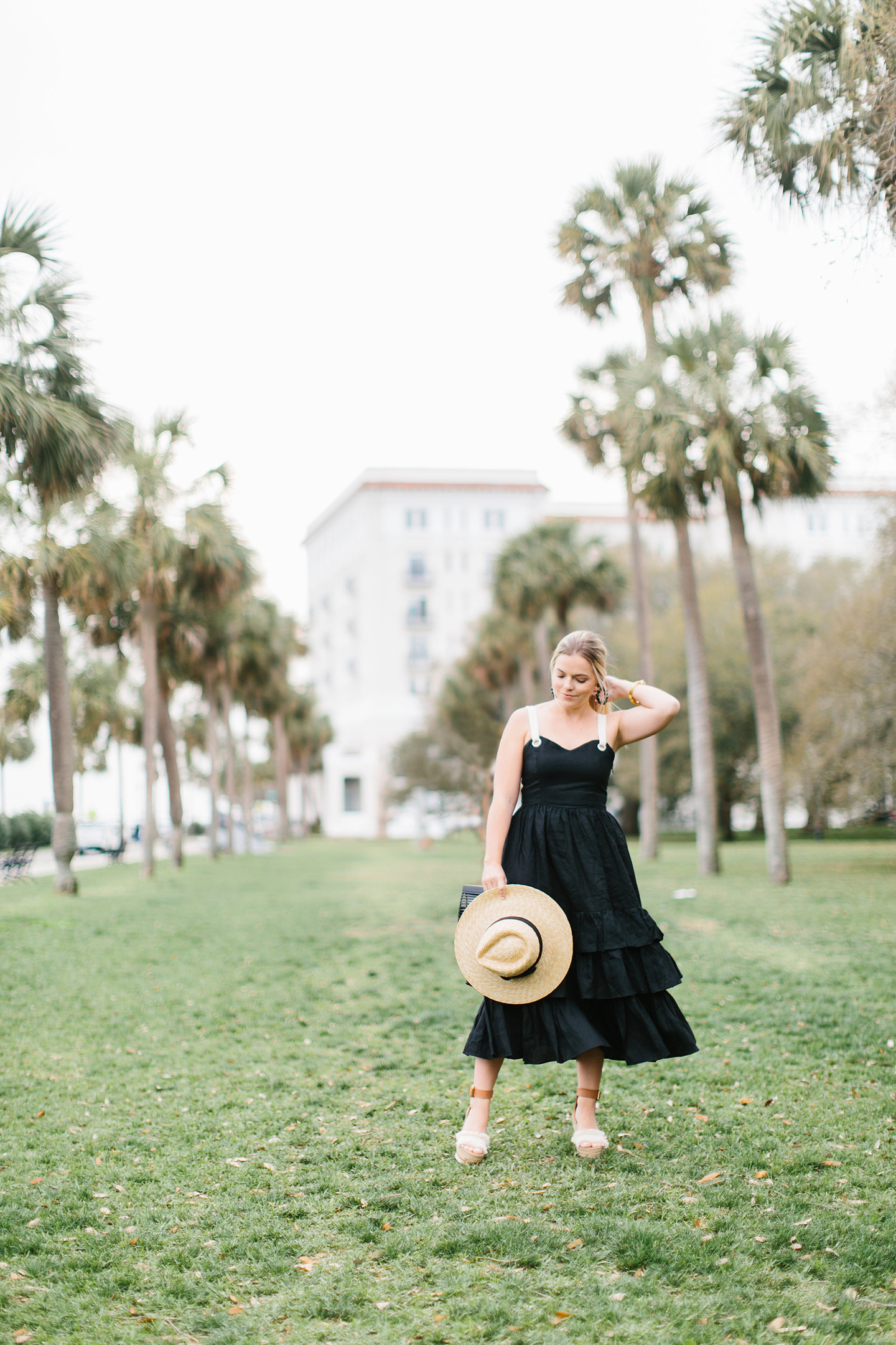Black Tiered Sundress