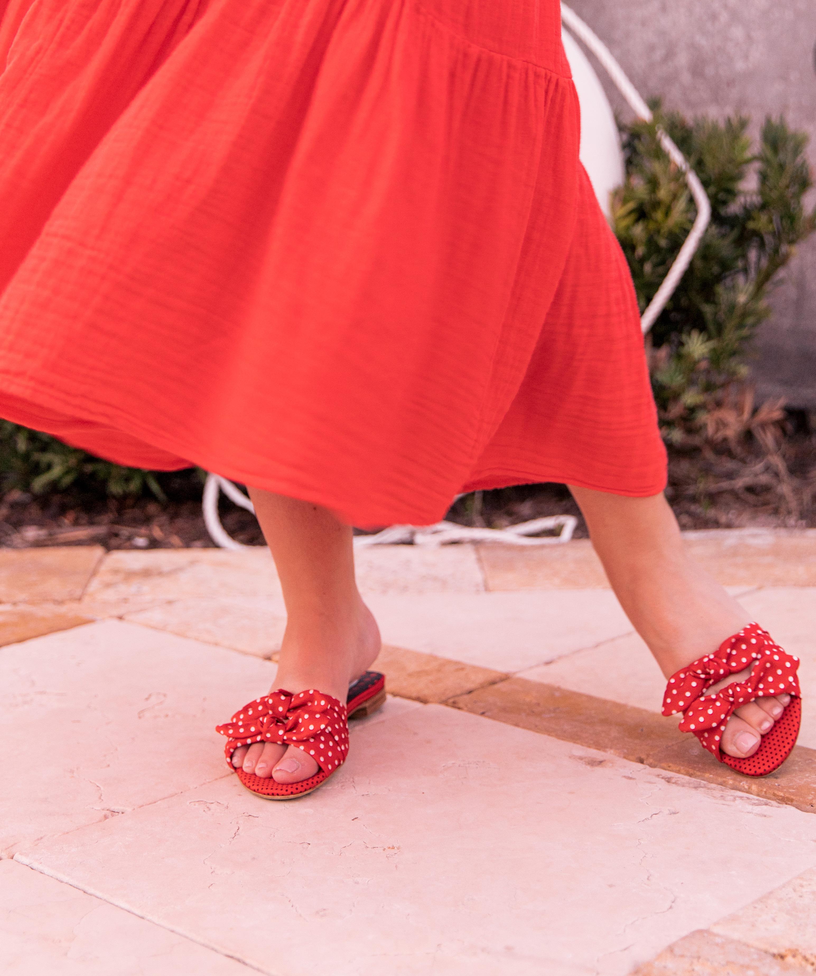 slide sandals for spring