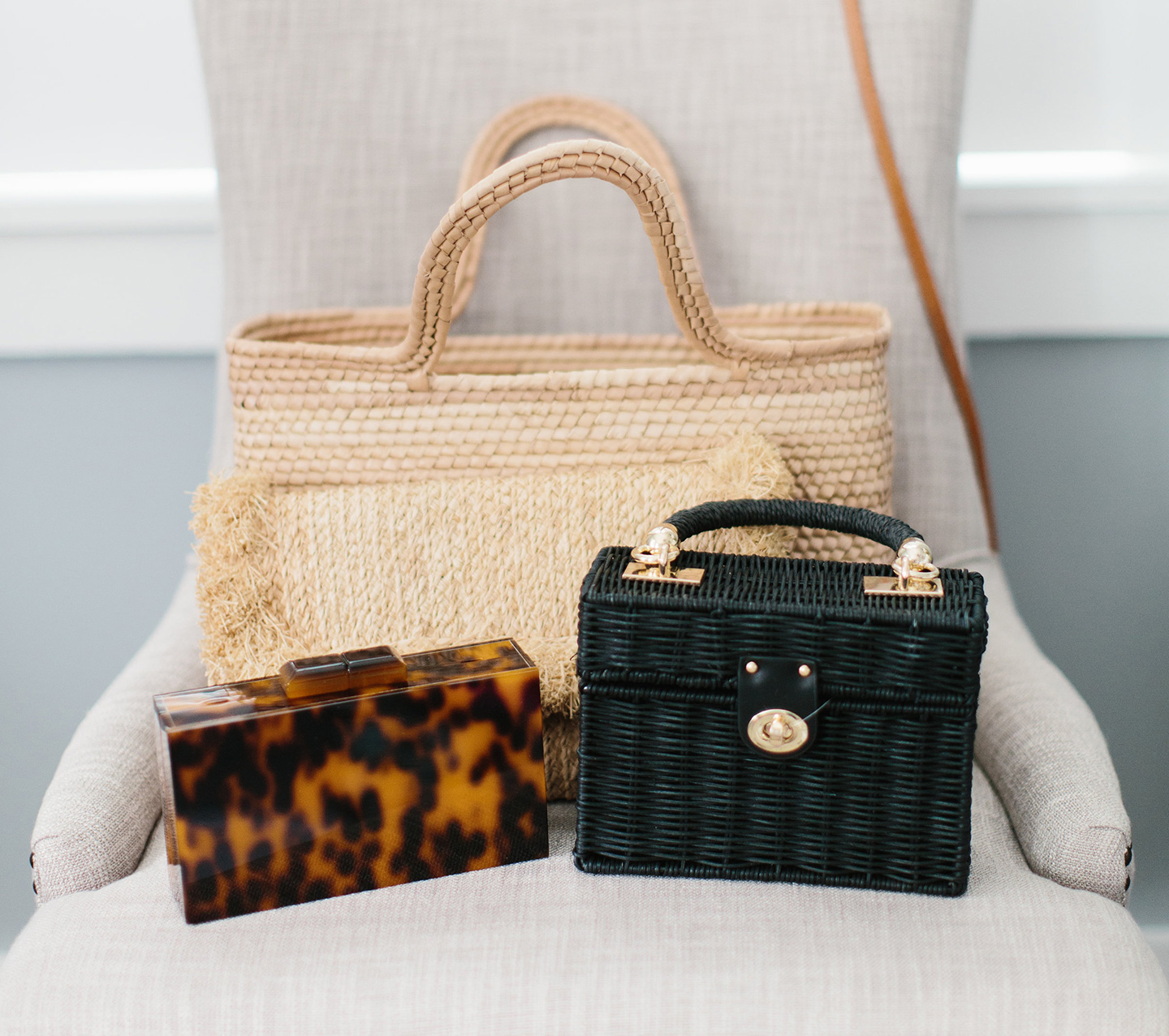 Straw Bags for Spring Summer