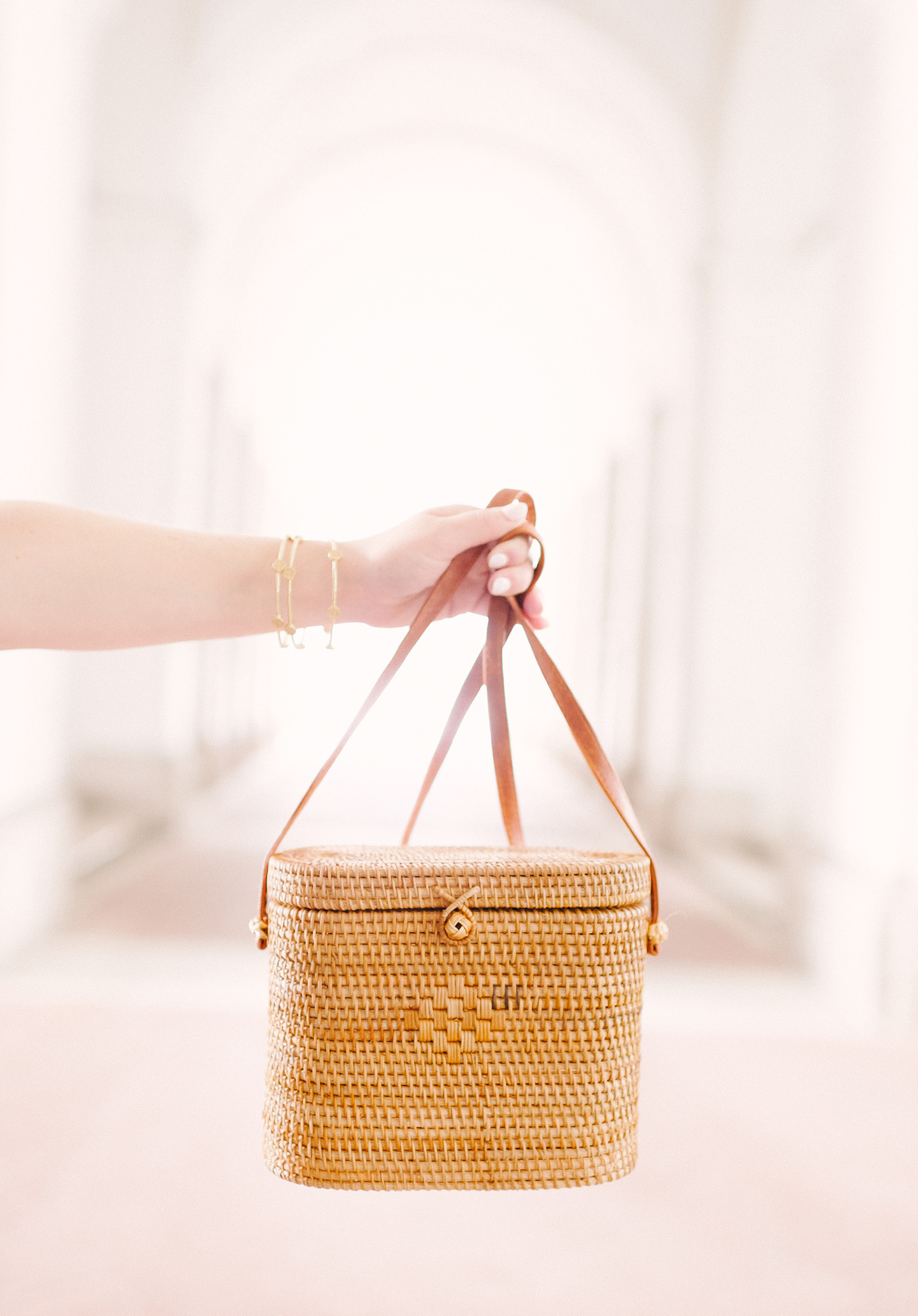 Beau and Ro Straw Bag