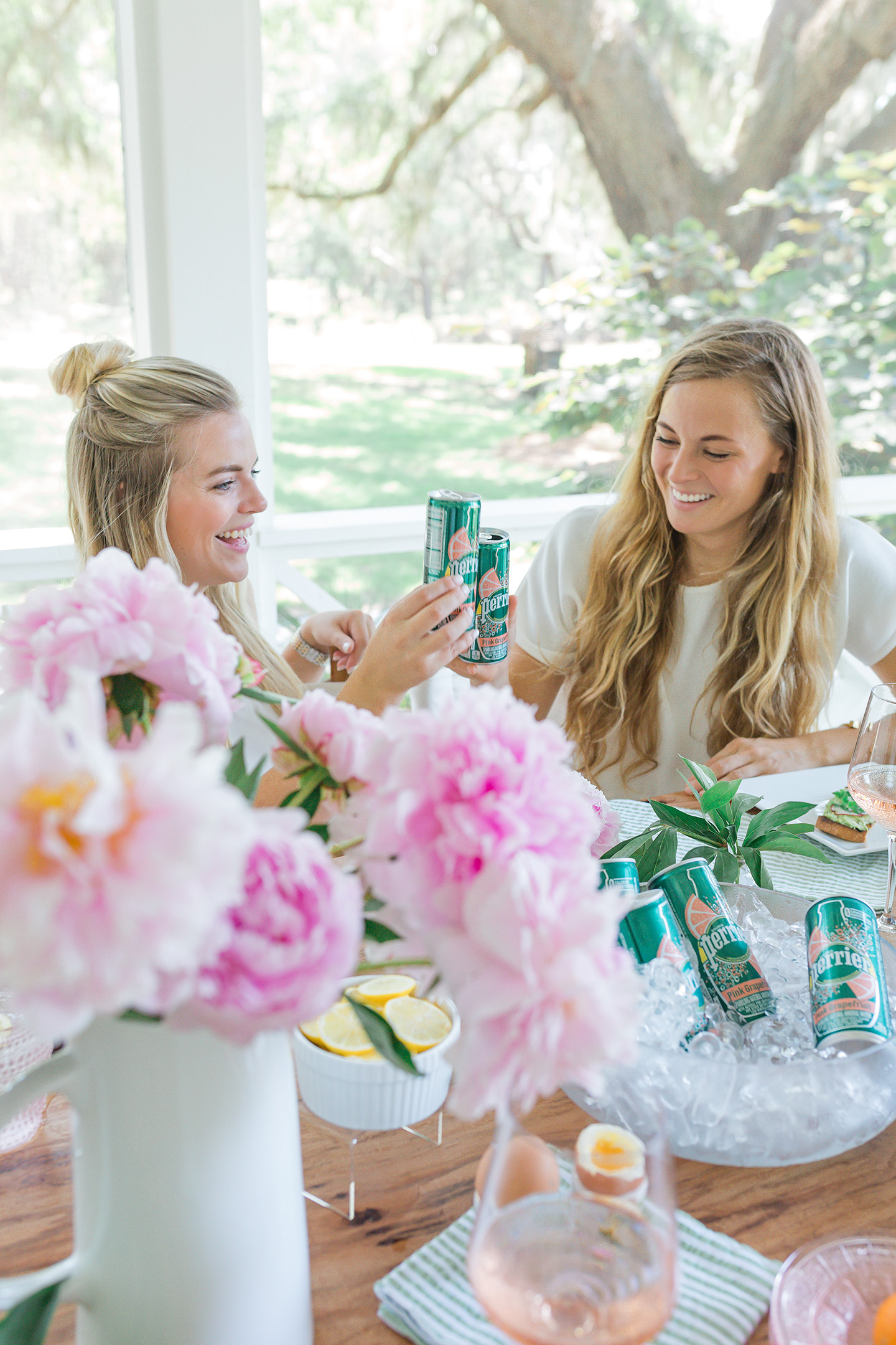 Summer Brunch with Perrier