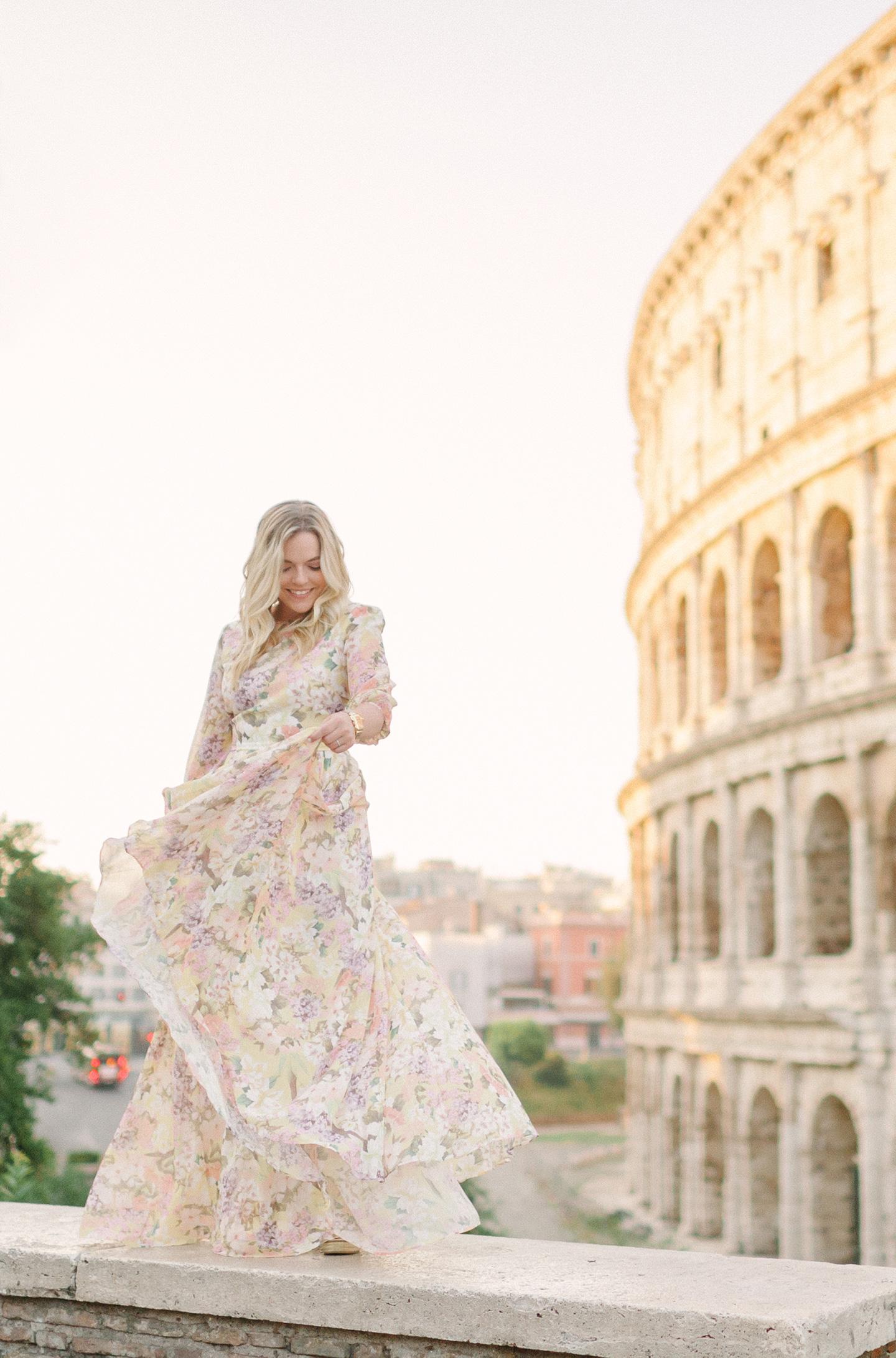Yumi Kim at the Colosseum