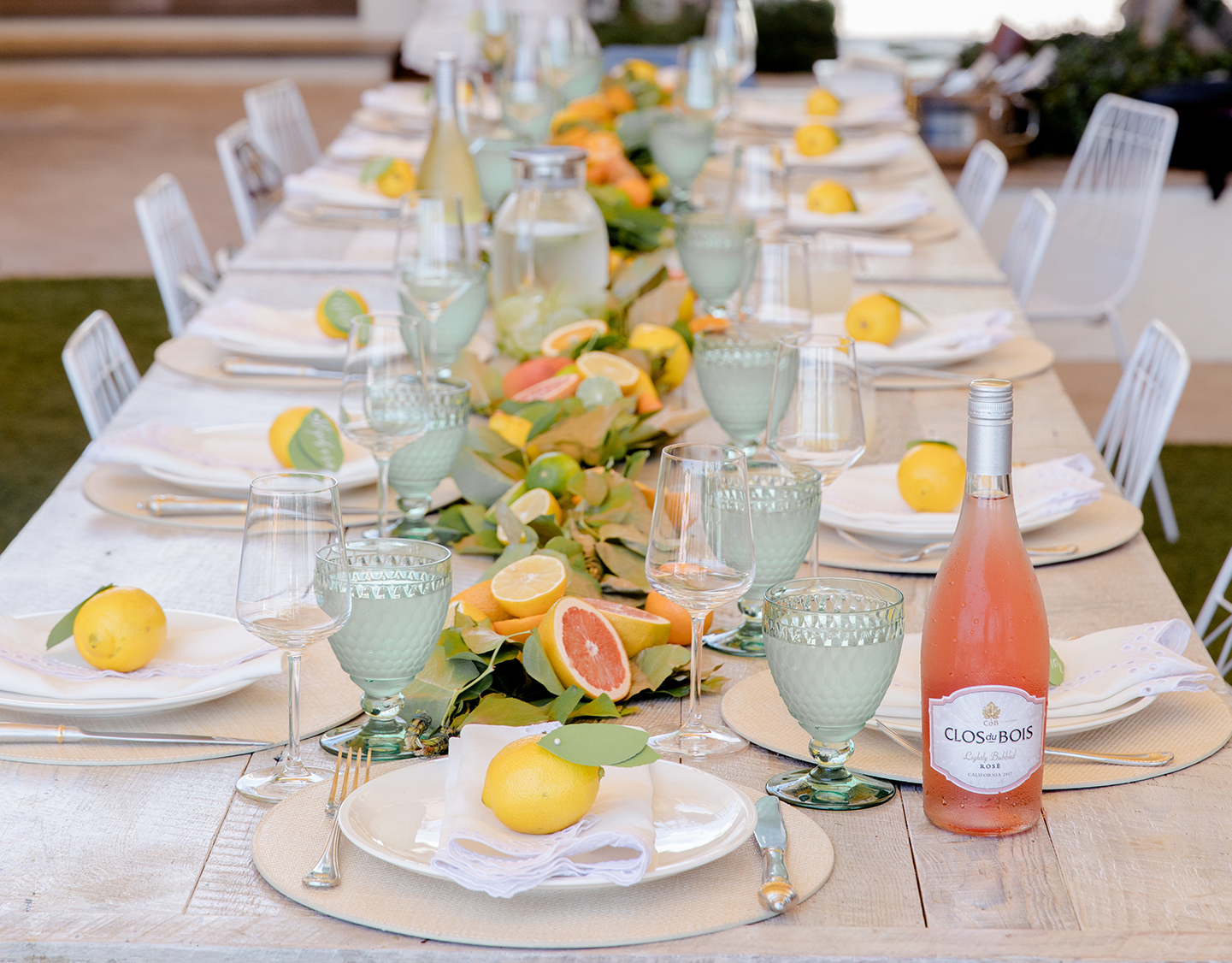 Citrus Summer Luncheon