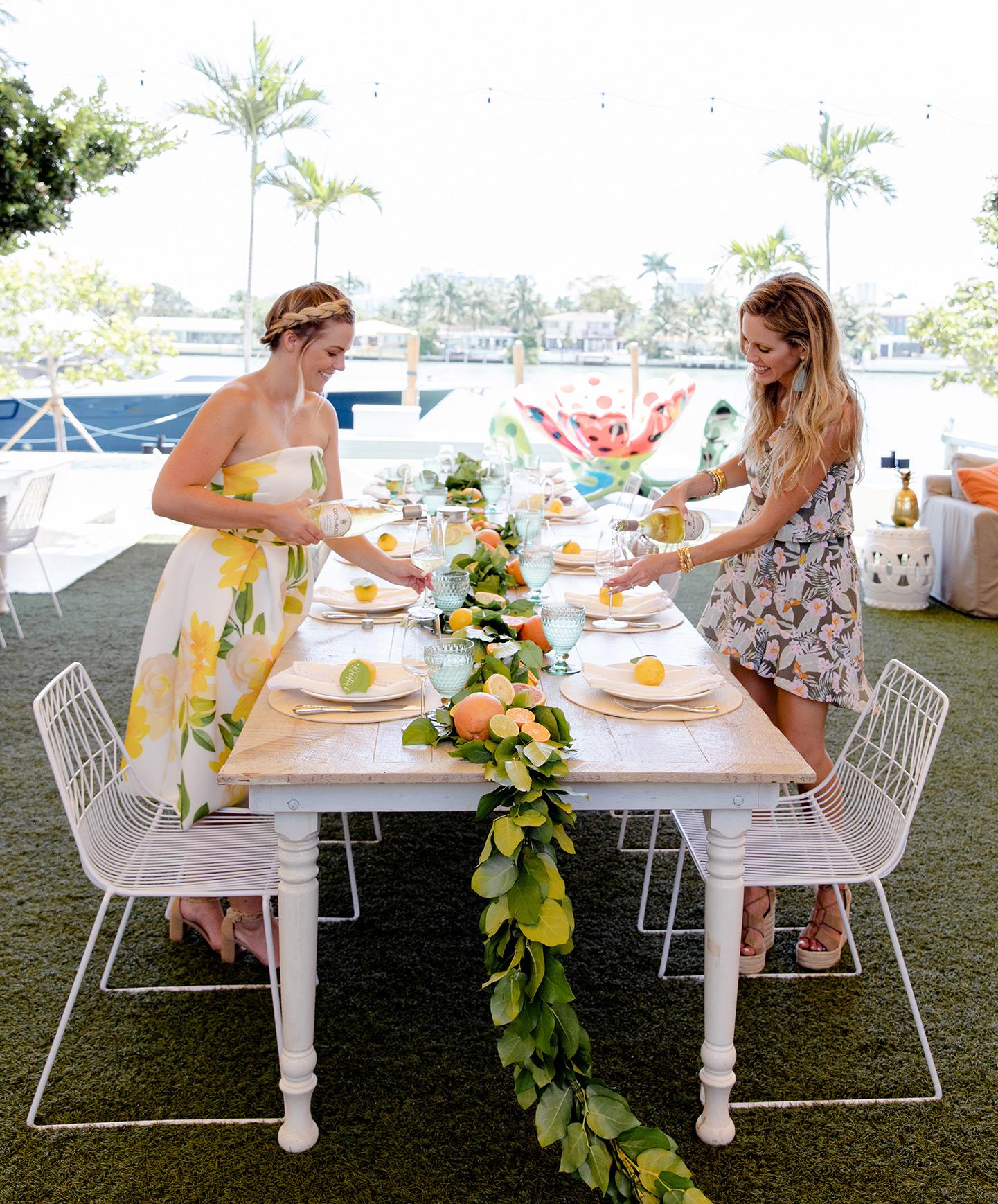 Citrus Summer Luncheon