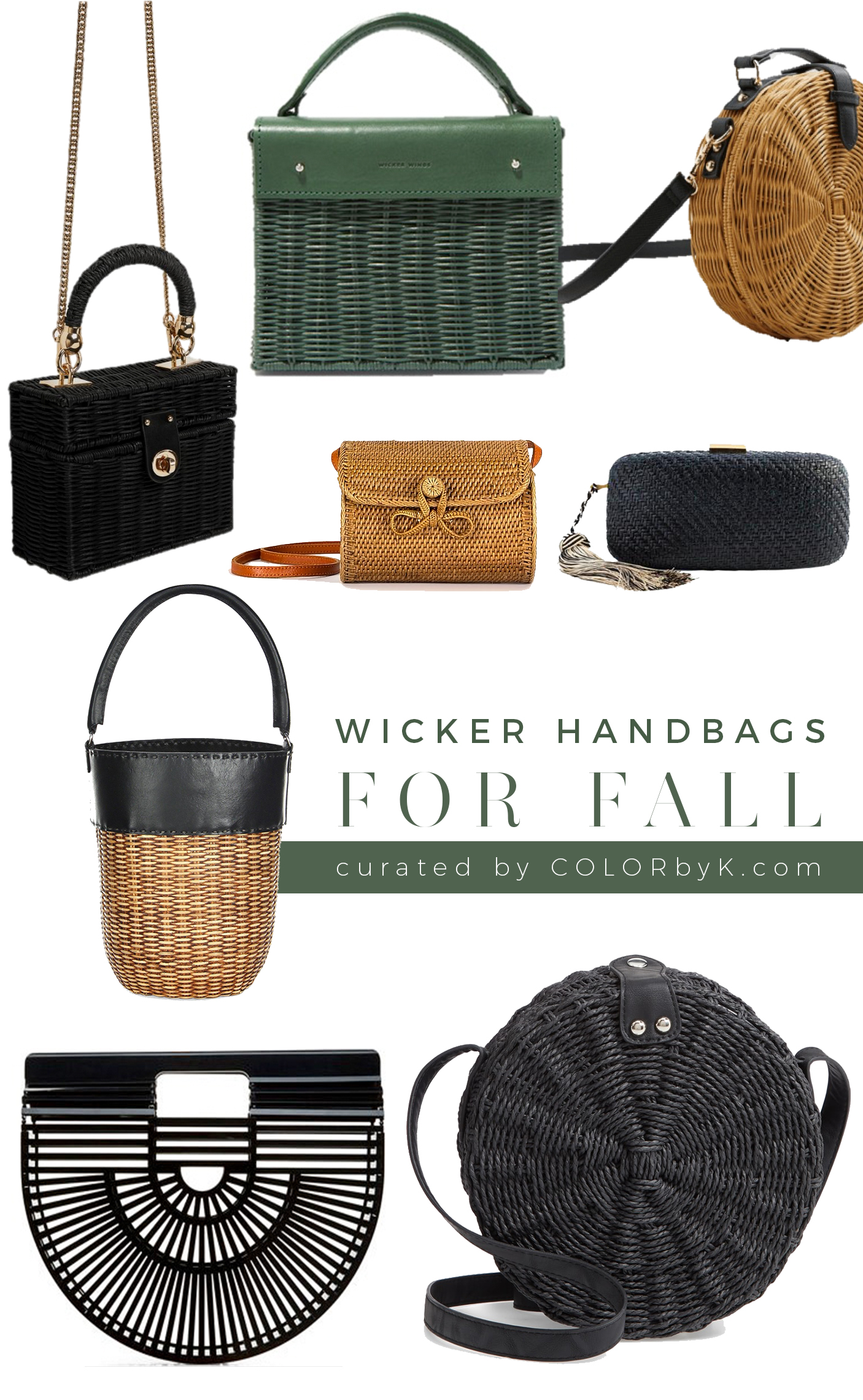 Trending Tuesday | Fall Wicker Handbags