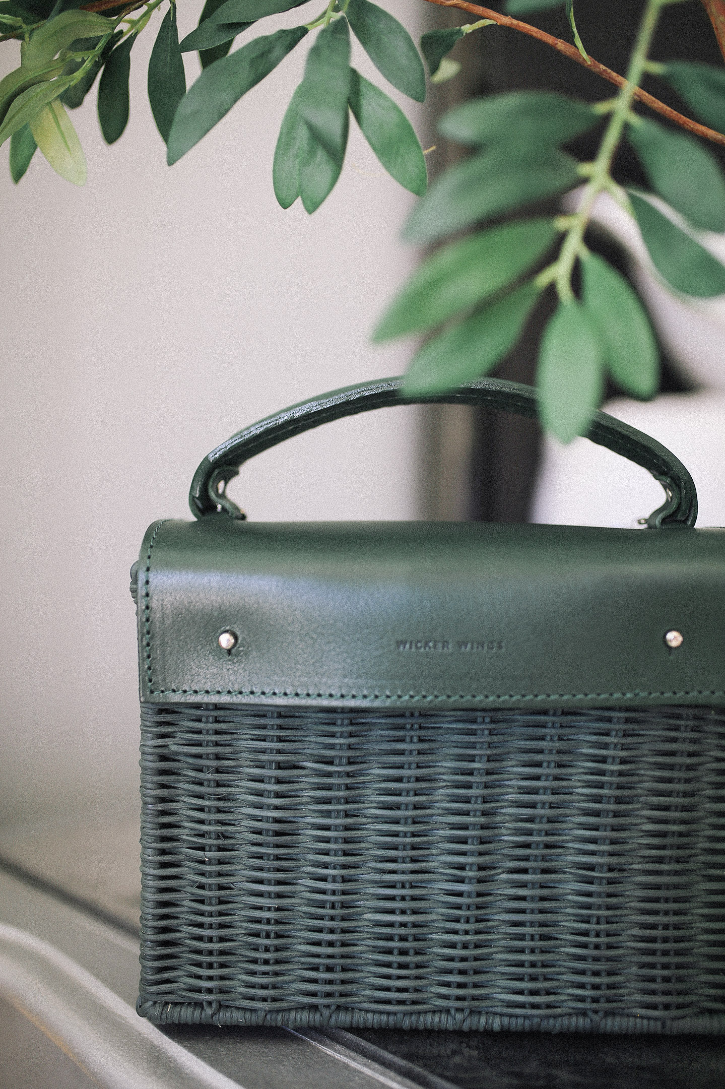 Wicker Handbags for Fall