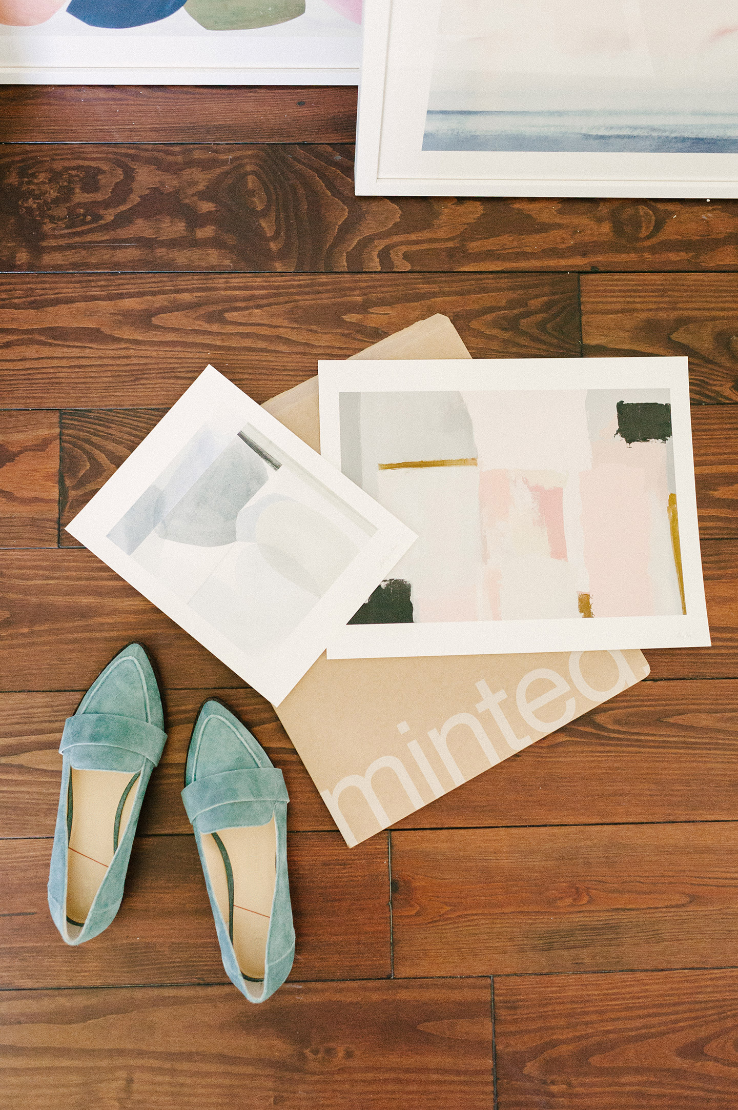 Minted Art | Perfecting a Gallery Wall Color Story