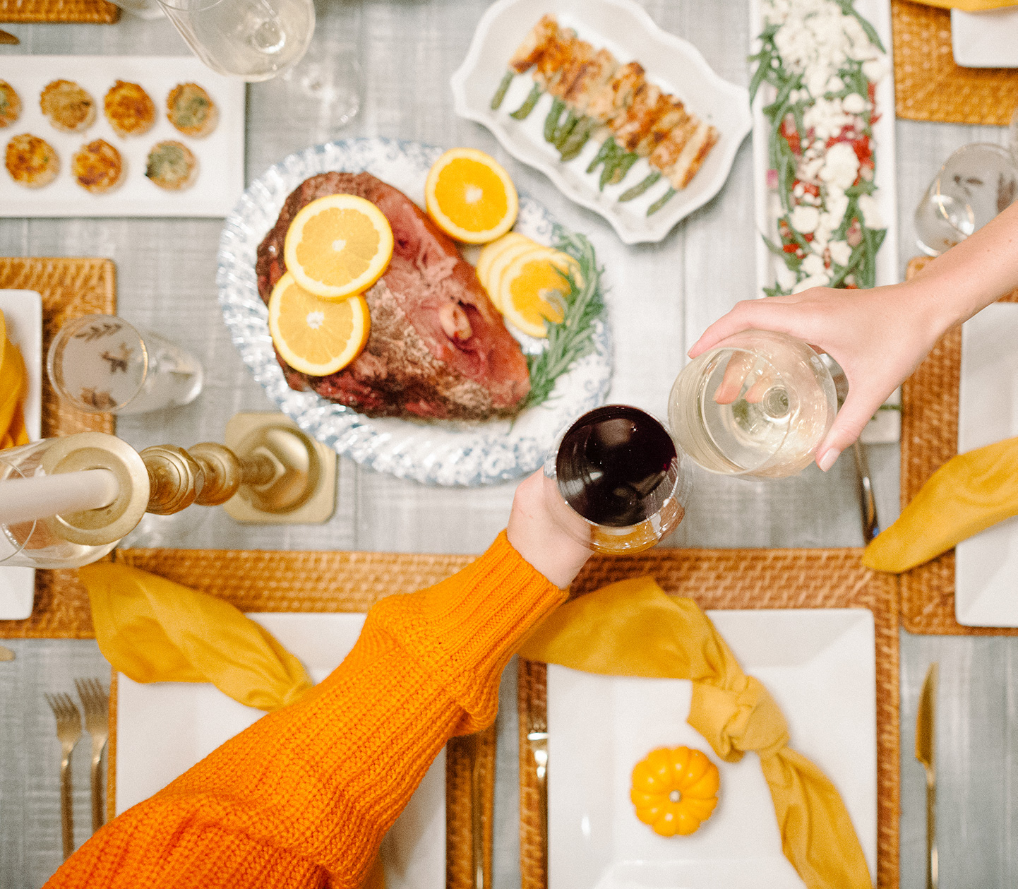 How to Host a Friendsgiving | COLOR by K