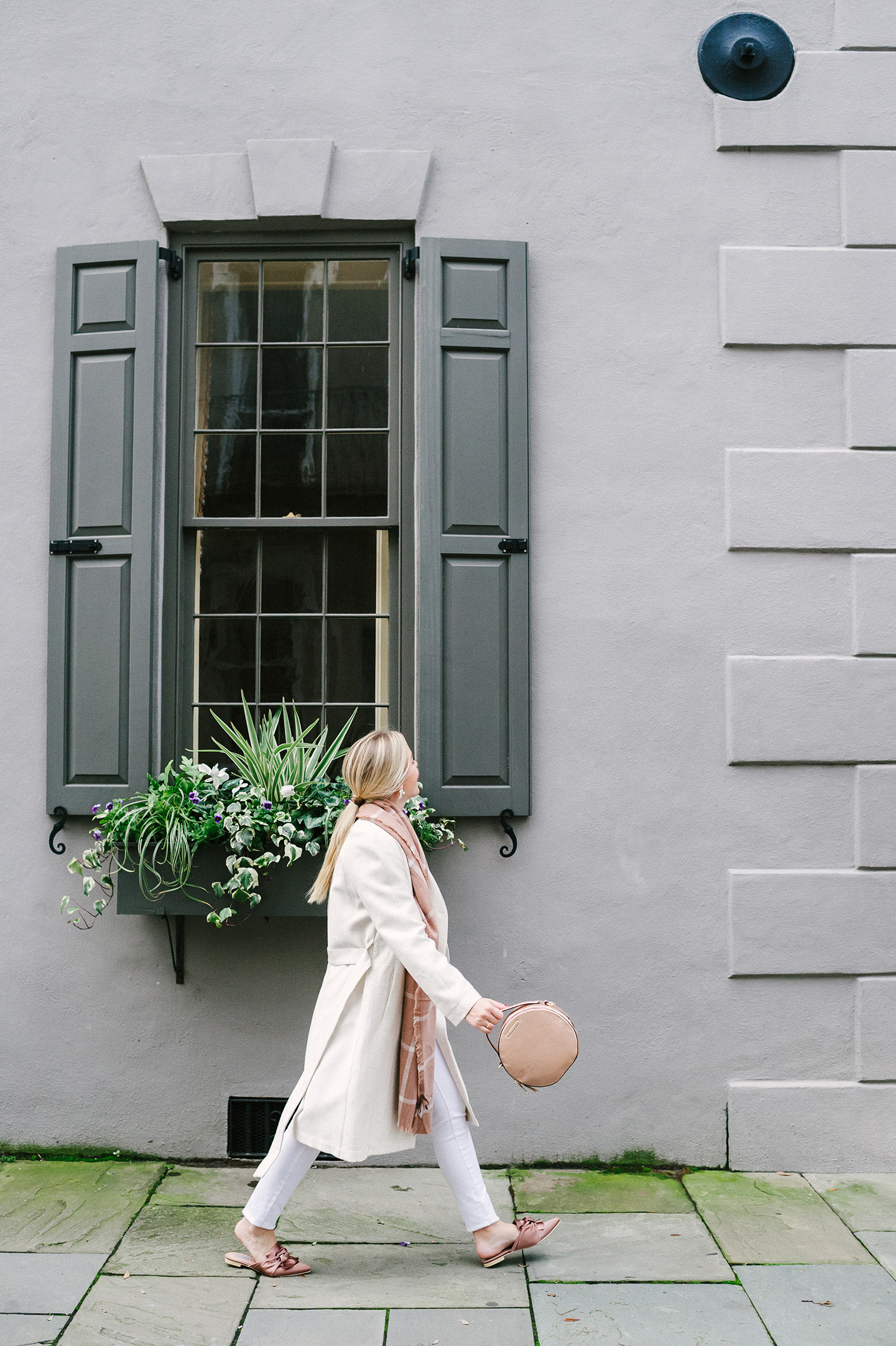 Beige, Cream + Rose Pink Outfit for Winter   COLOR by K