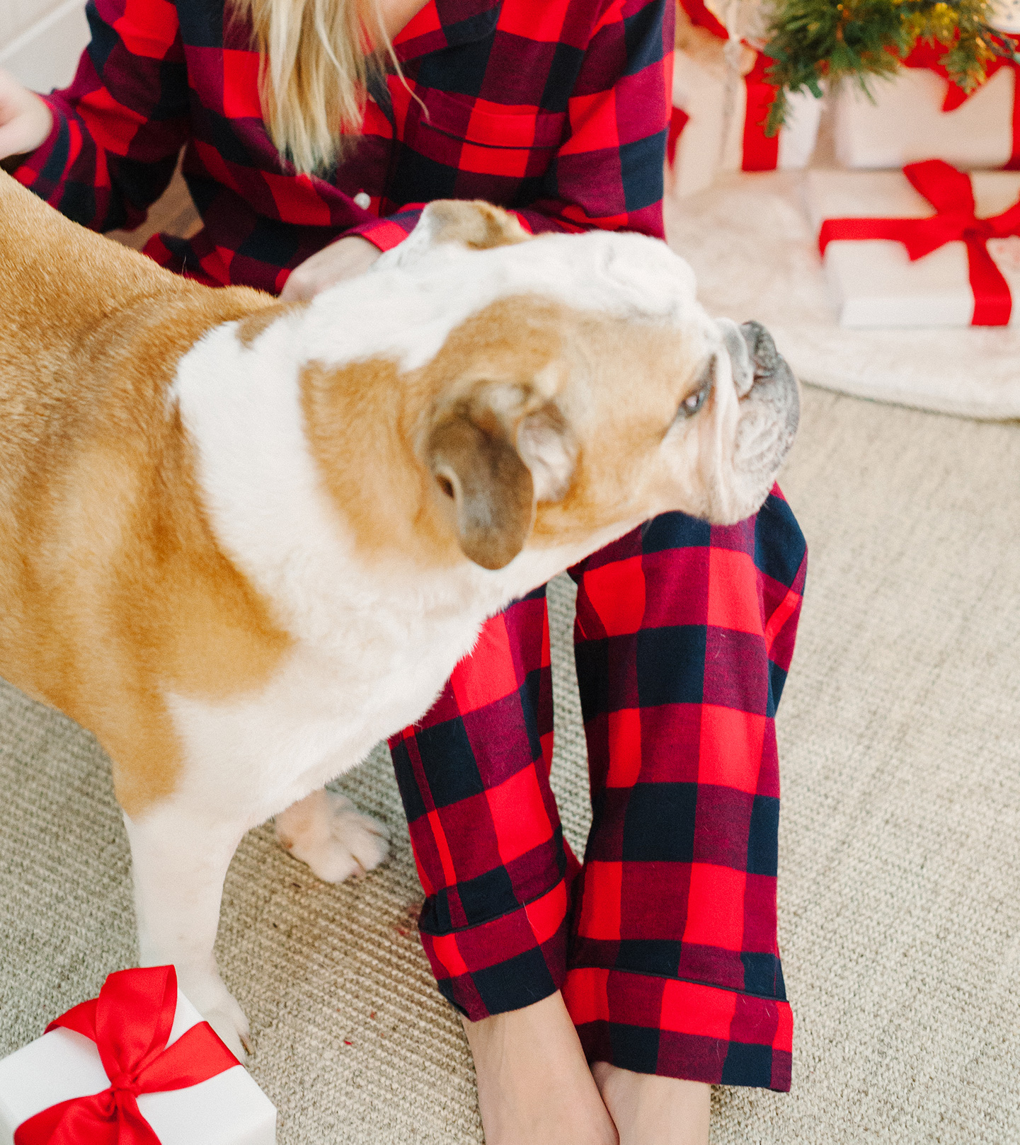 Lands End Pajamas for Christmas | COLOR by K