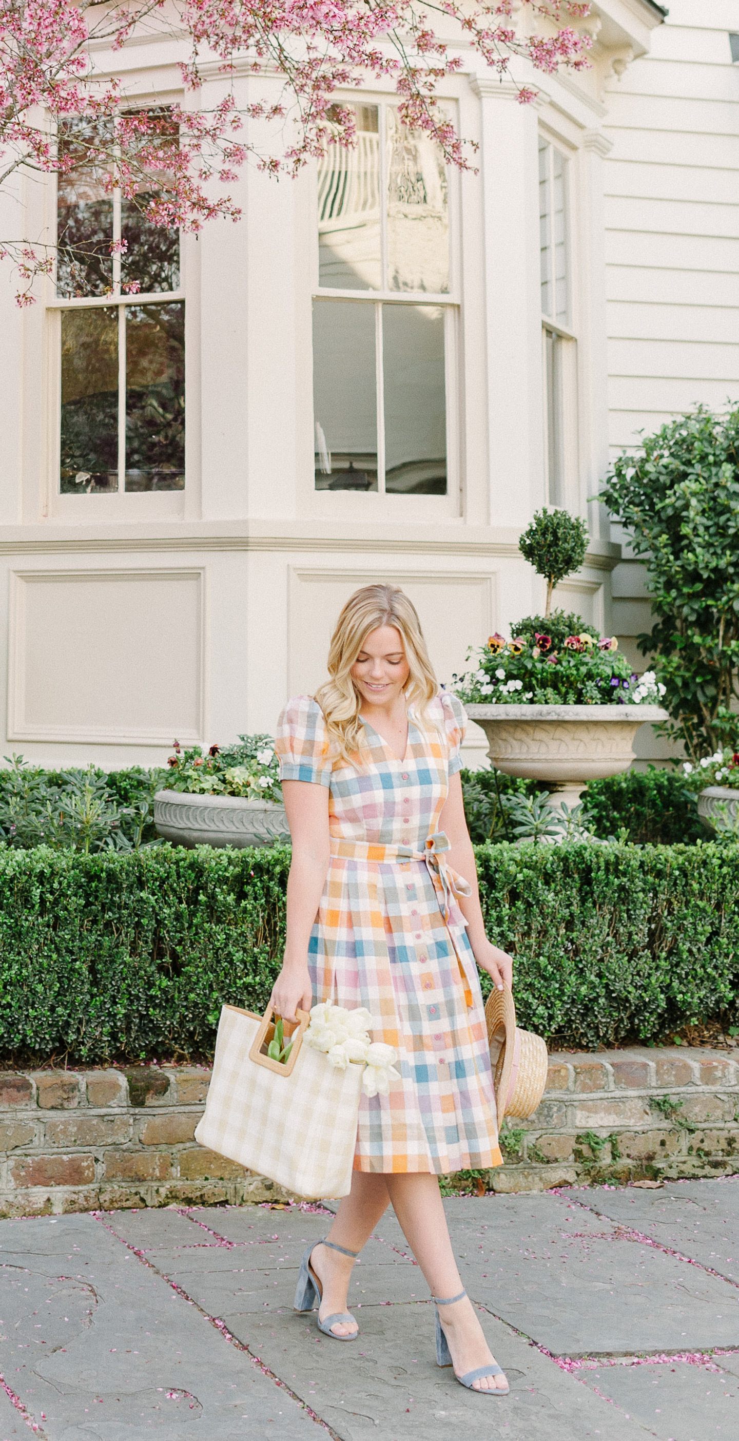Colorful Checkered Dress   COLOR by K