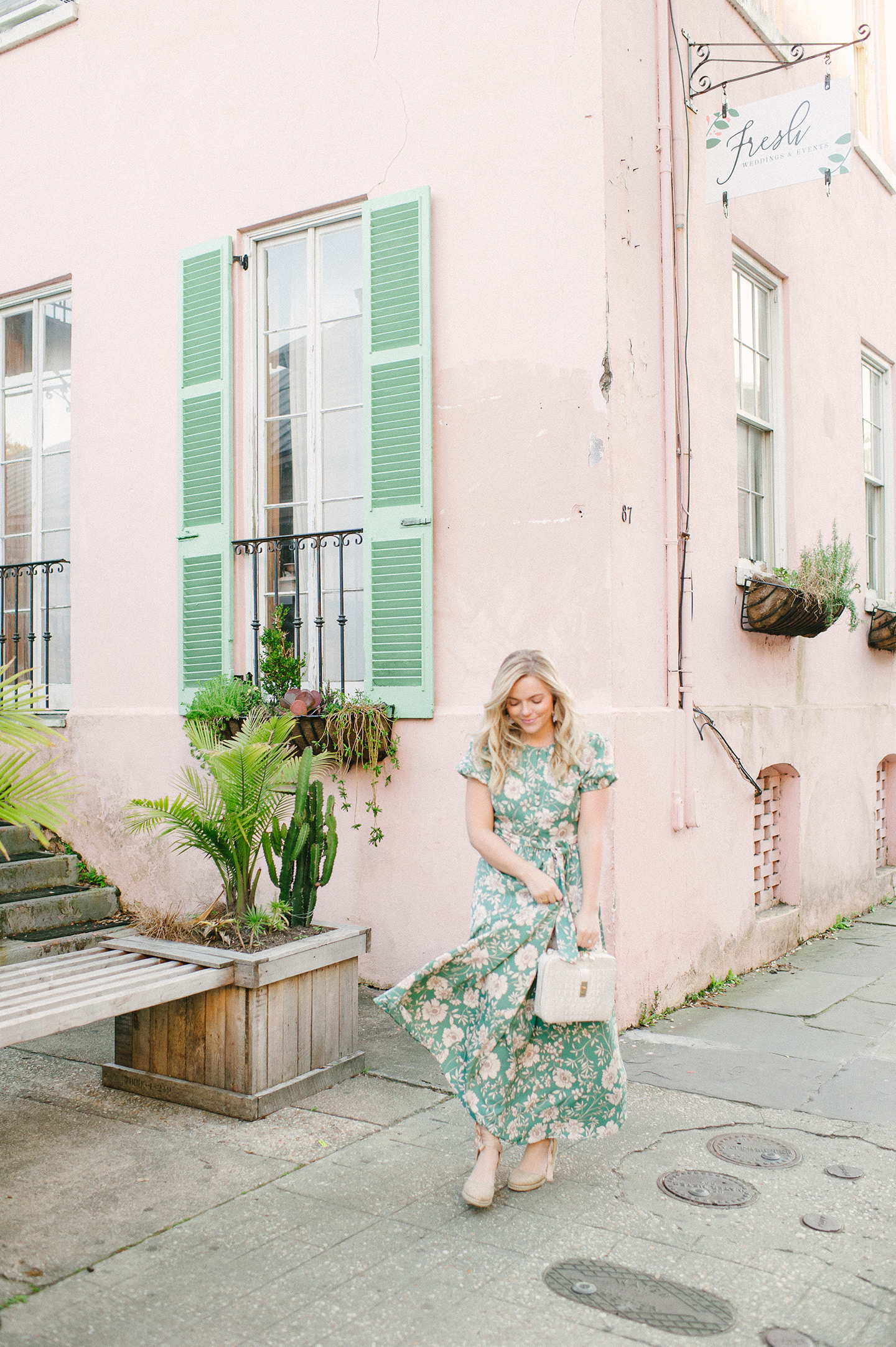 floral dresses in Charleston