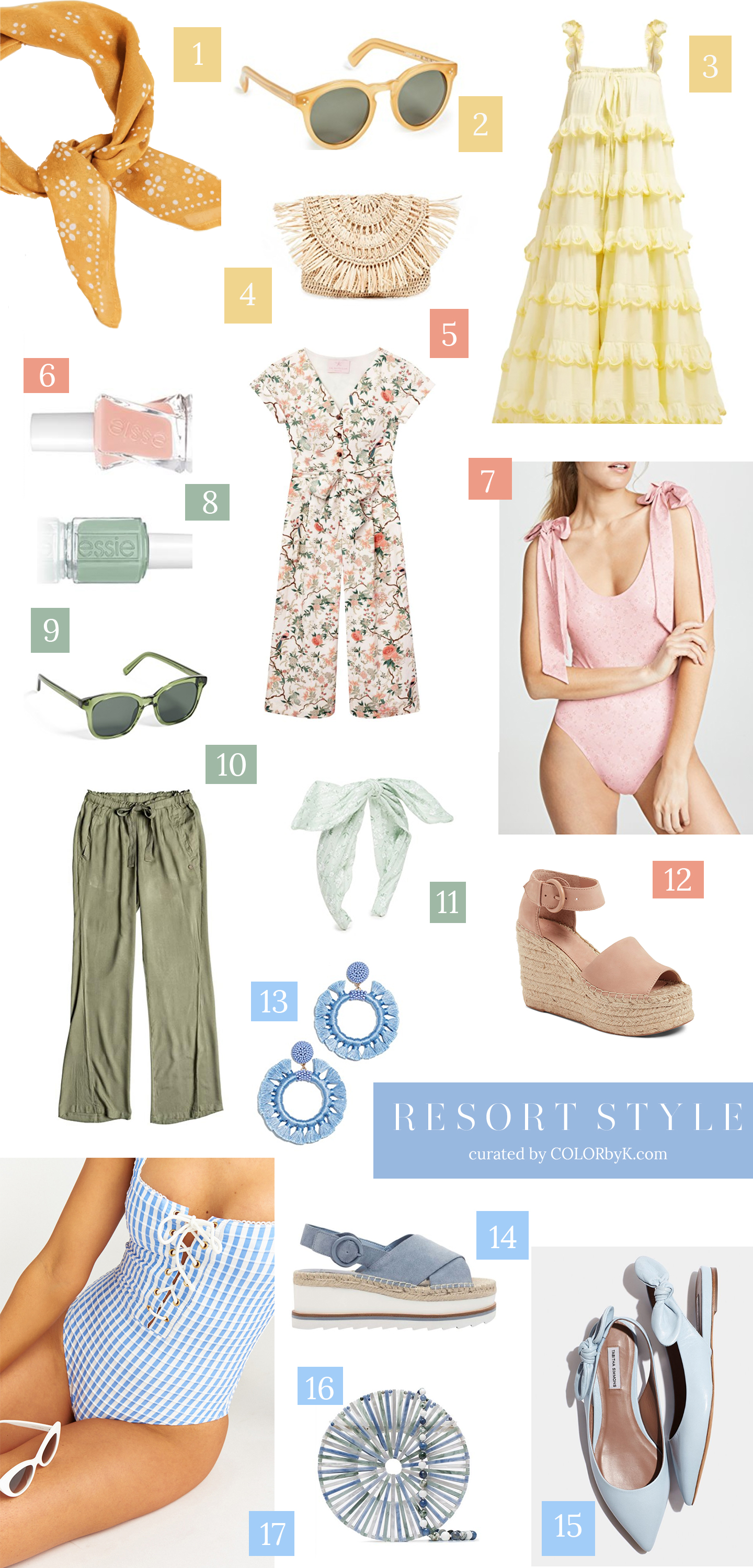 Trending Tuesday | RESORT STYLE