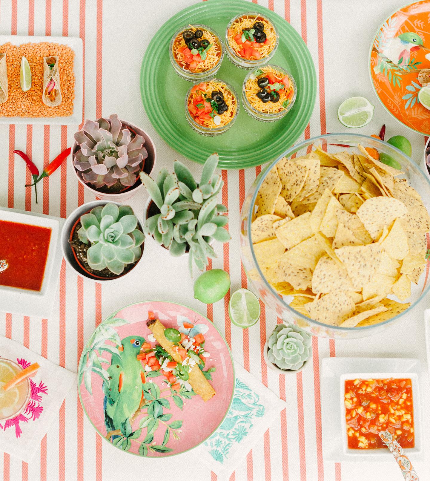 Cinco de Mayo Food Spread | COLOR by K