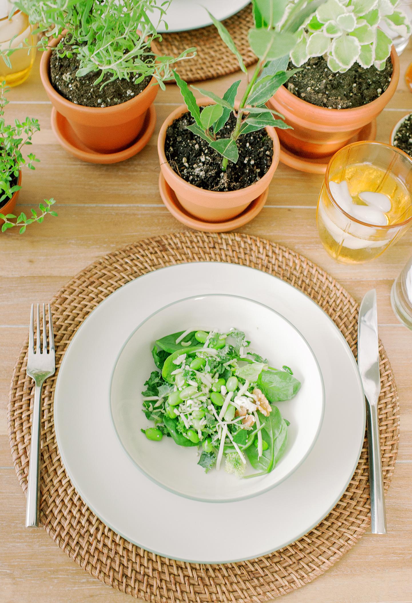 Green Salad from Trader Joe's
