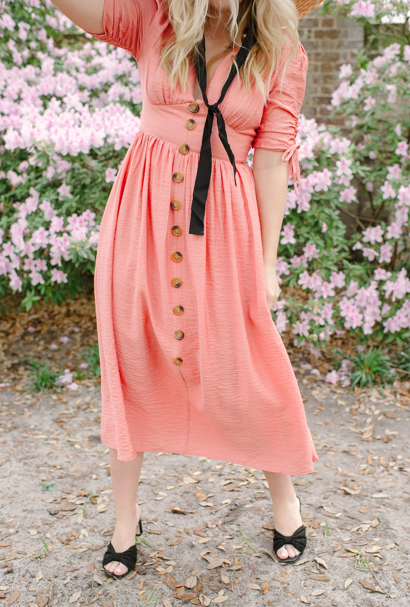 Living Coral Sundress   COLOR by K