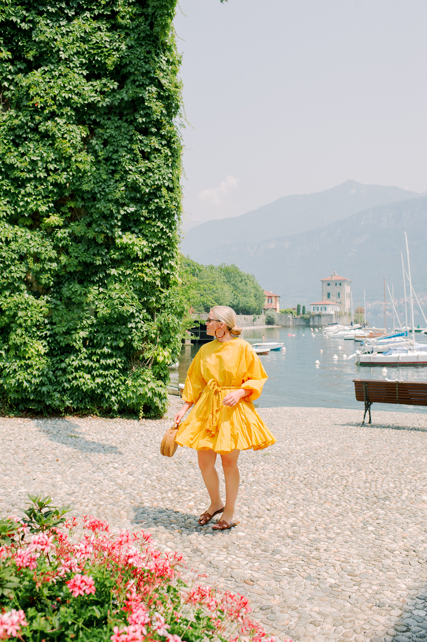 Rhode Resort Ella Dress in Saffron