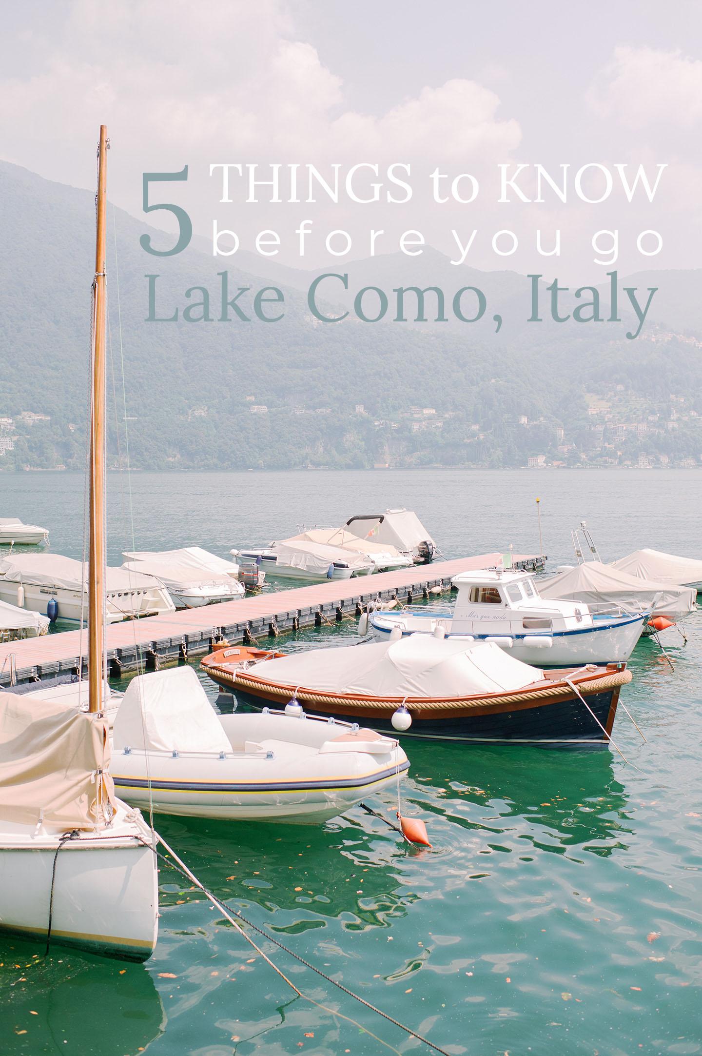 Visit Lake Como Italy