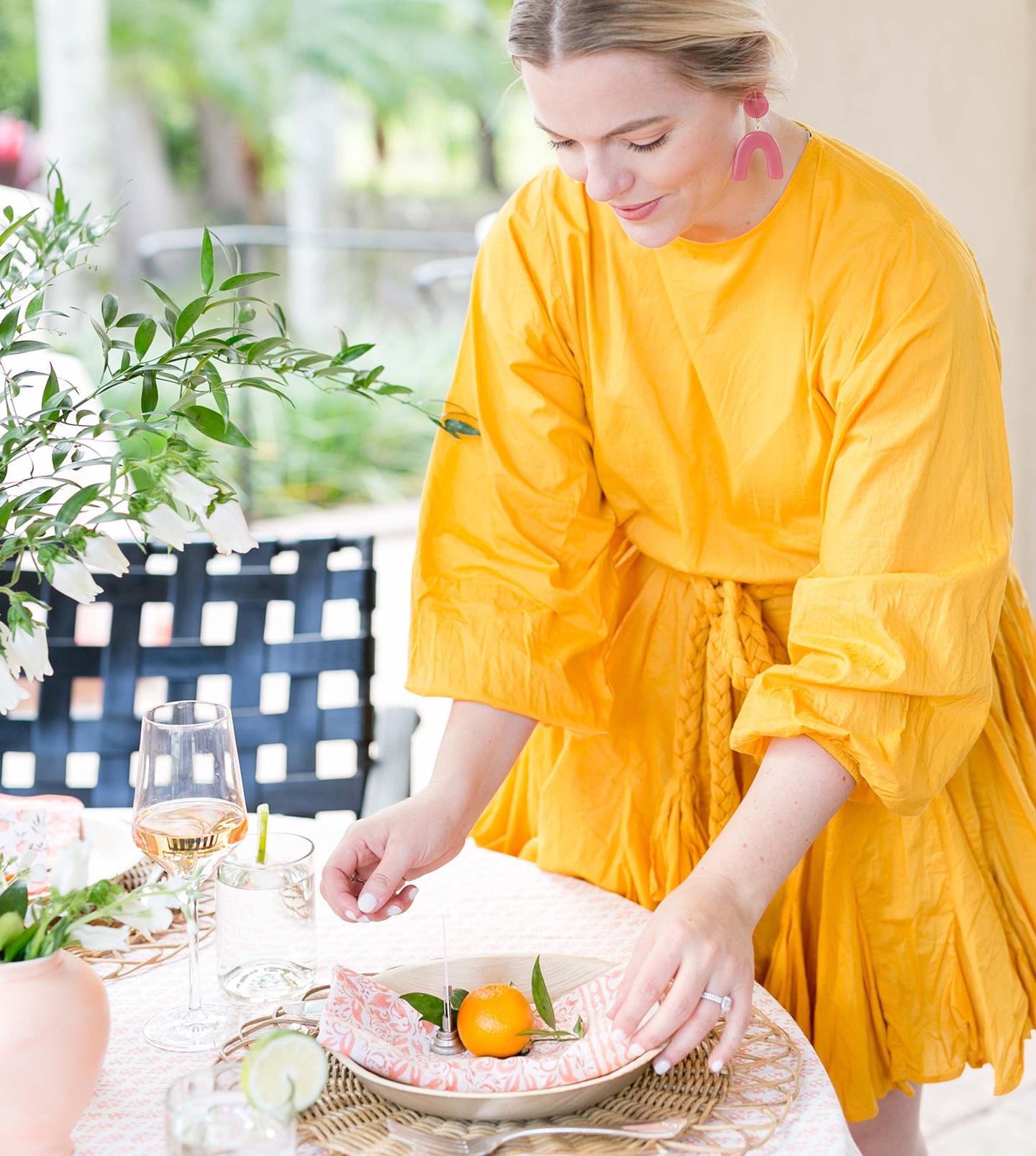 Citrus Bridal Shower | COLOR by K