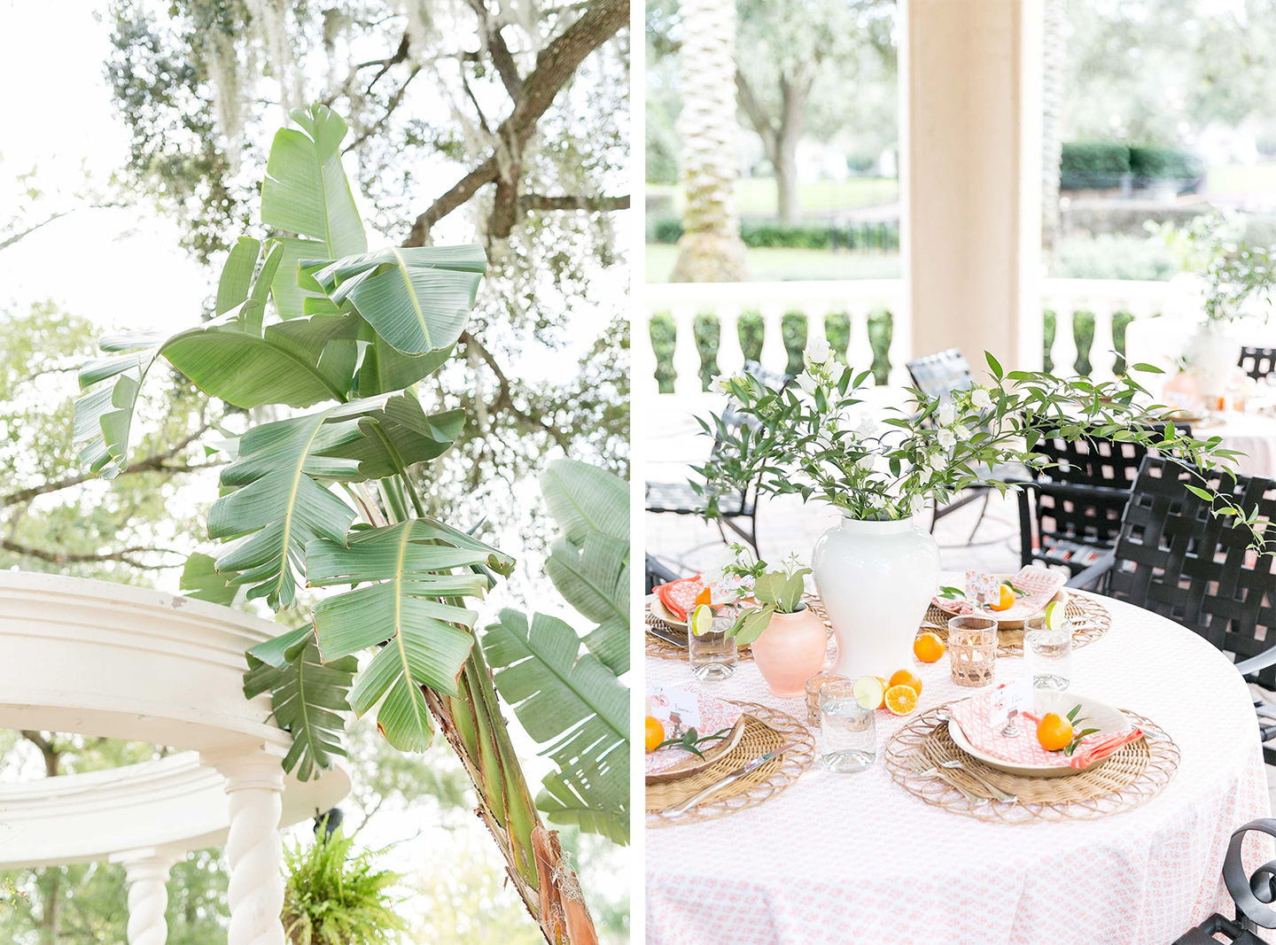 Floridian Citrus Bridal Shower