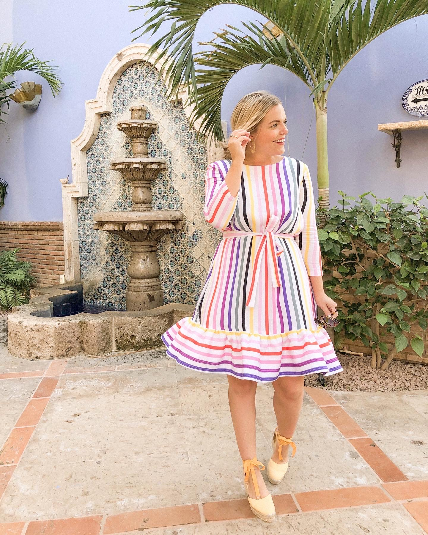 Persifor Stripe Dress