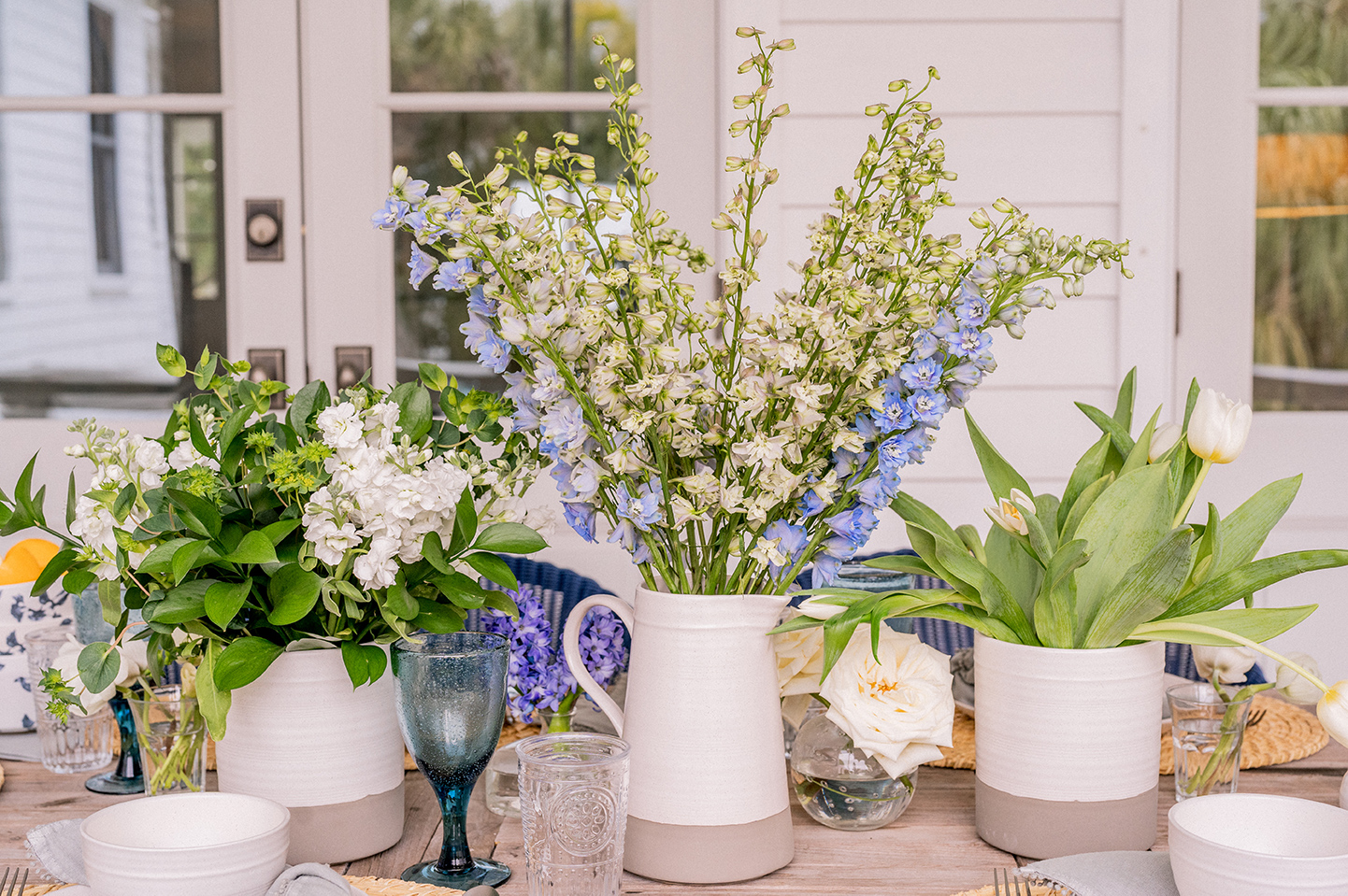 Floral Farmhouse Tablescape