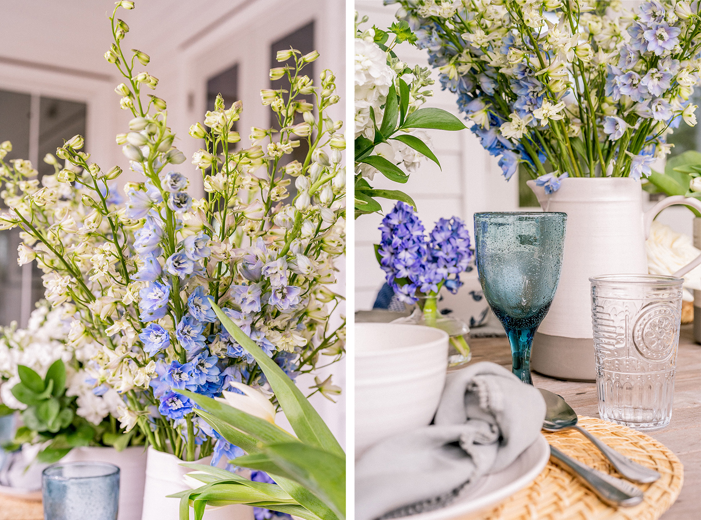 Florals for a Farmhouse Tablescape