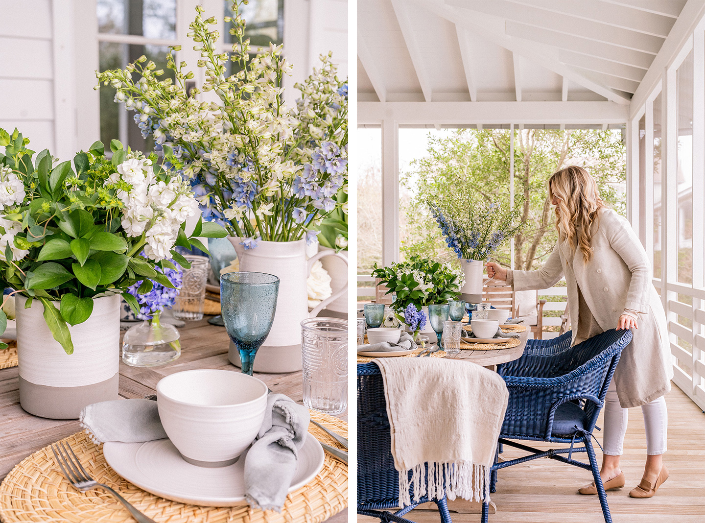 How to Create a Farmhouse Tablescape