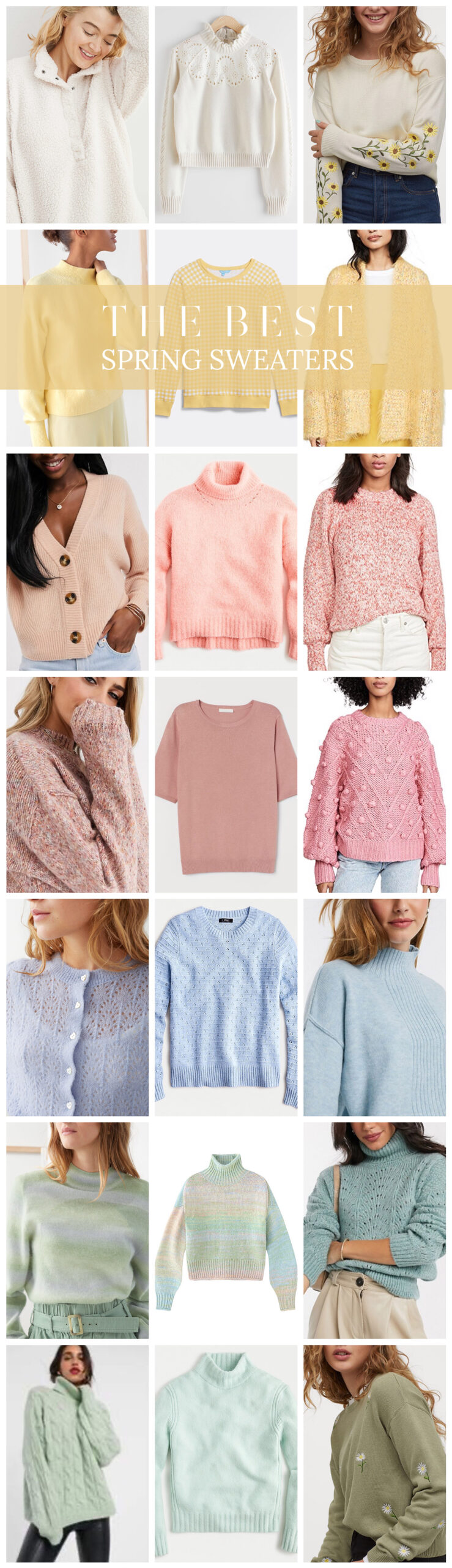 The Best Spring SweatersThe Best Spring Sweaters