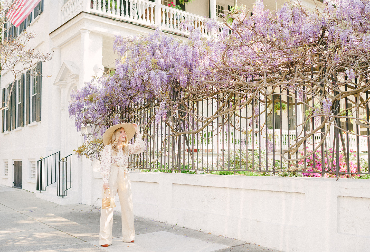 Wisteria Lane in Charleston