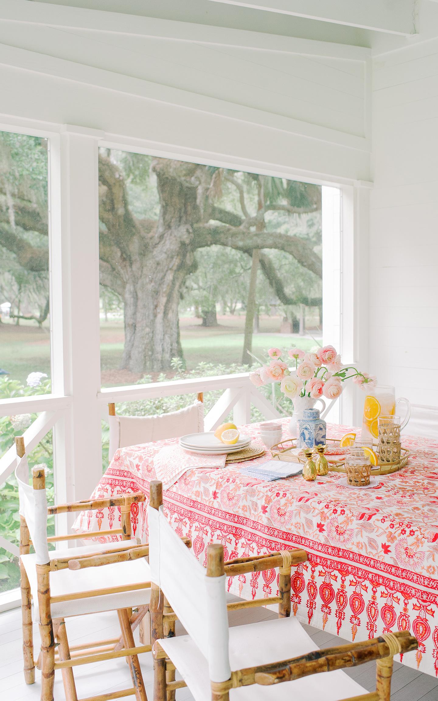 Colorful Spring Tabletop Spread