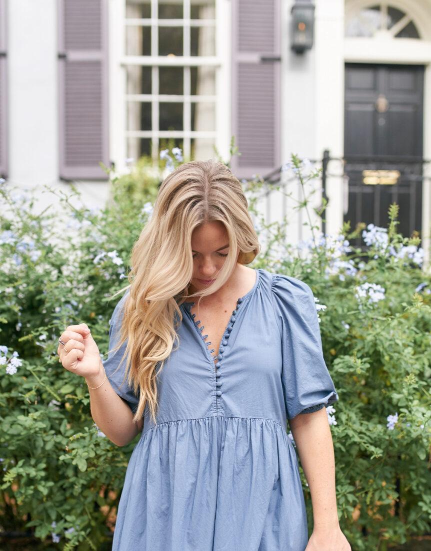 Dusty Blue Color Palette | House Dress