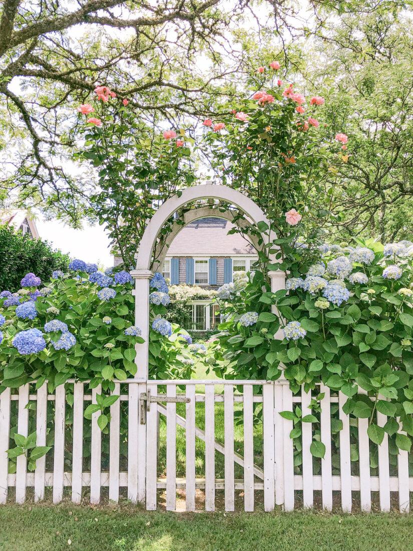 Nantucket Floral Arbor